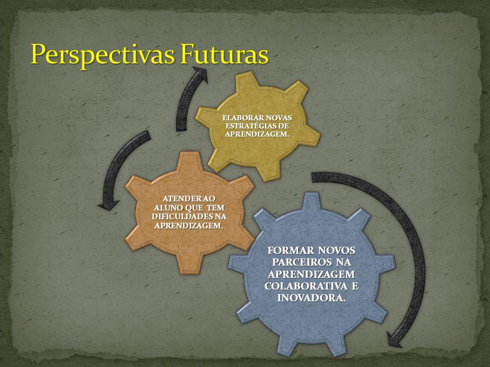 FORMAR NOVOS PARCEIROS NA APRENDIZAGEM COLABORATIVA E INOVADORA.