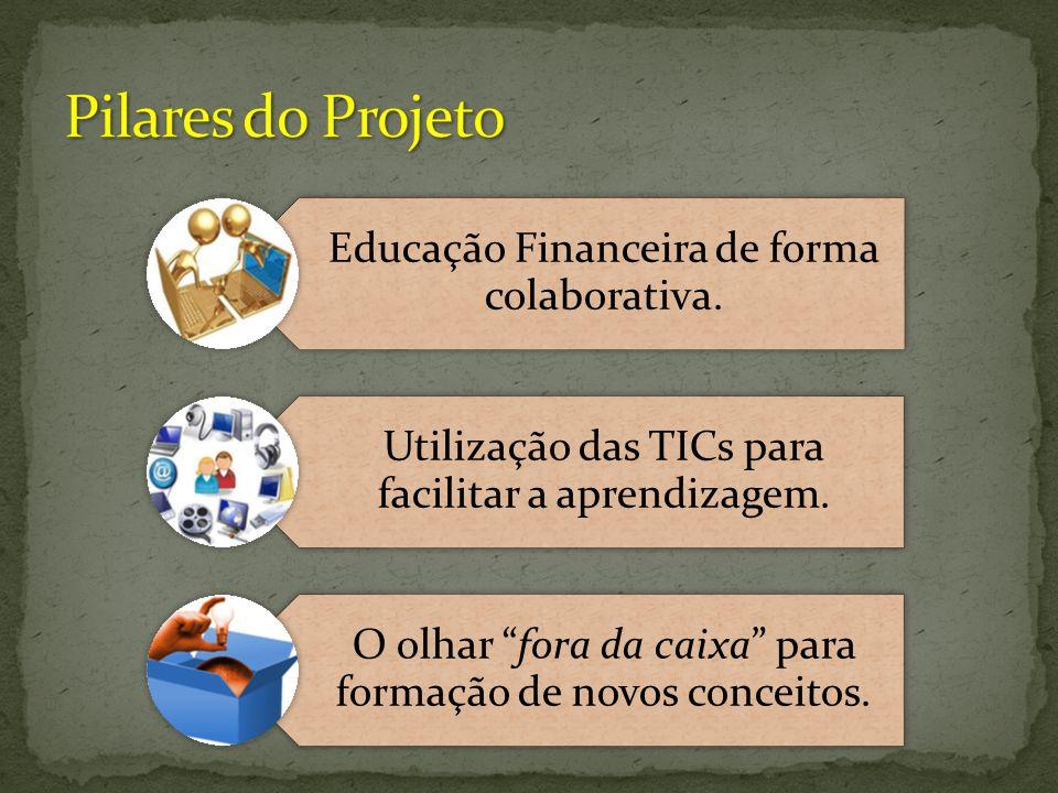 """Educação Financeira de forma colaborativa. Utilização das TICs para facilitar a aprendizagem. O olhar """"fora da caixa"""" para formação de novos conceitos"""