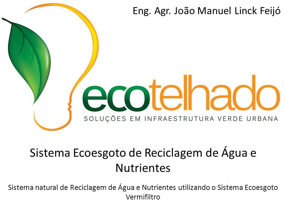 Sistema Ecoesgoto de Reciclagem de Água e Nutrientes Sistema natural de Reciclagem de Água e Nutrientes utilizando o Sistema Ecoesgoto Vermifiltro Eng