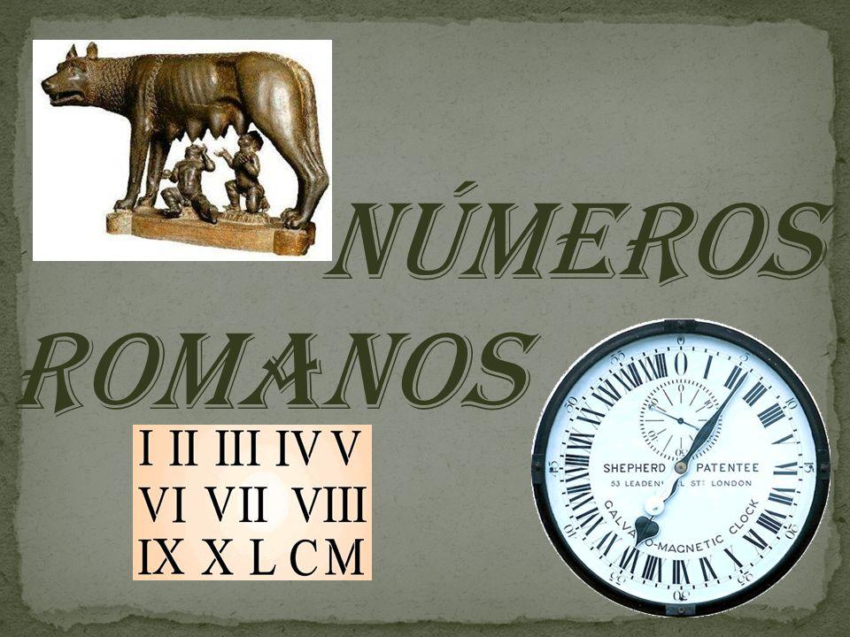 ¤ As letras I, X, C e M podem ser repetidas seguidamente até 3 vezes.