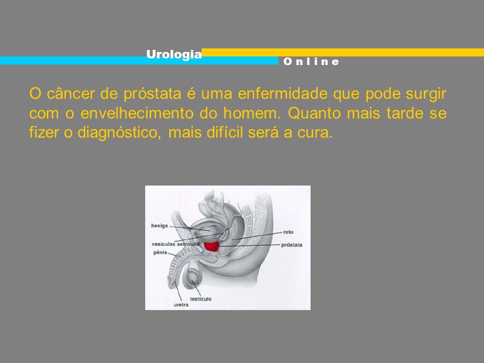 O câncer de próstata é uma enfermidade que pode surgir com o envelhecimento do homem.