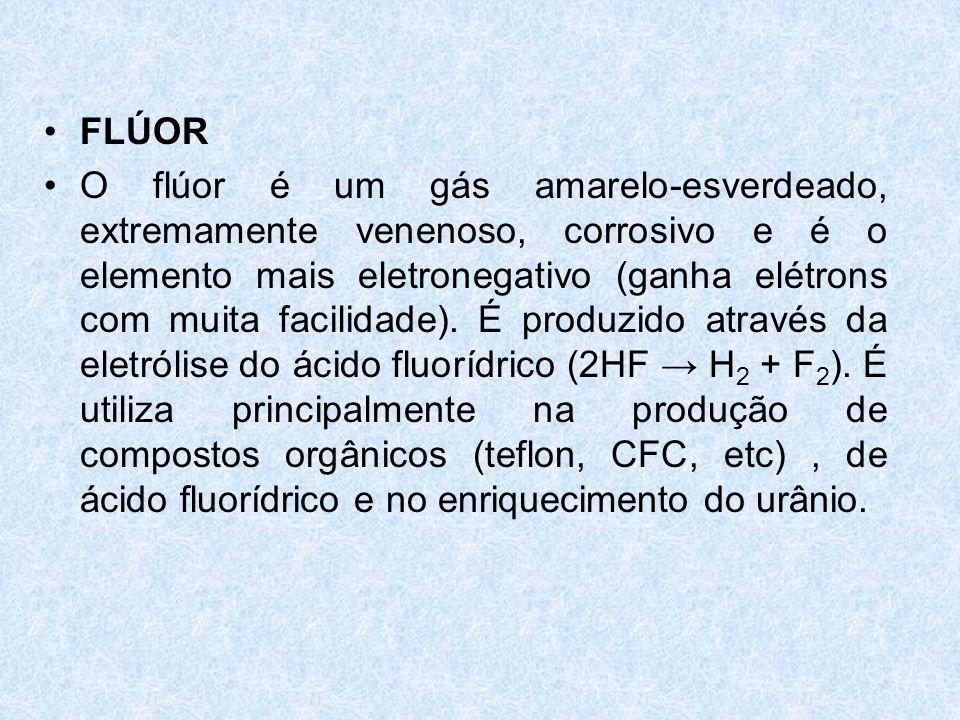 •BICARBONATO DE SÓDIO (NaHCO 3 ): ou hidrogeno carbonato de sódio, pó branco que por aquecimento perde gás carbônico.