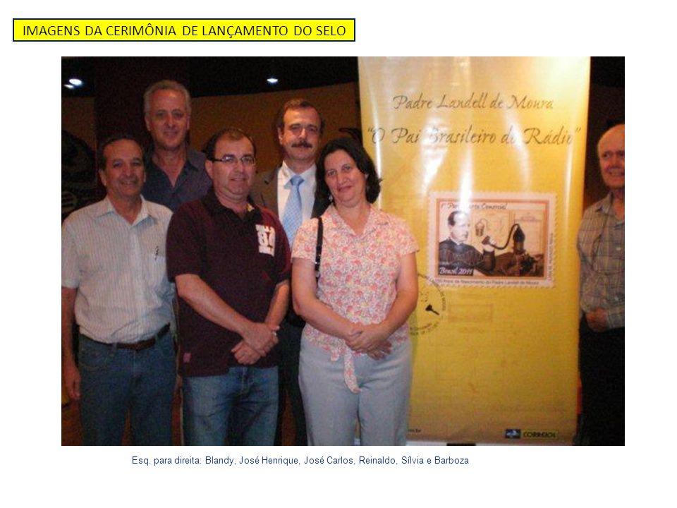 Esq. para direita: Blandy, José Henrique, José Carlos, Reinaldo, Sílvia e Barboza