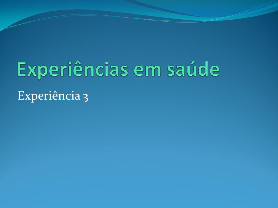 Experiência 3