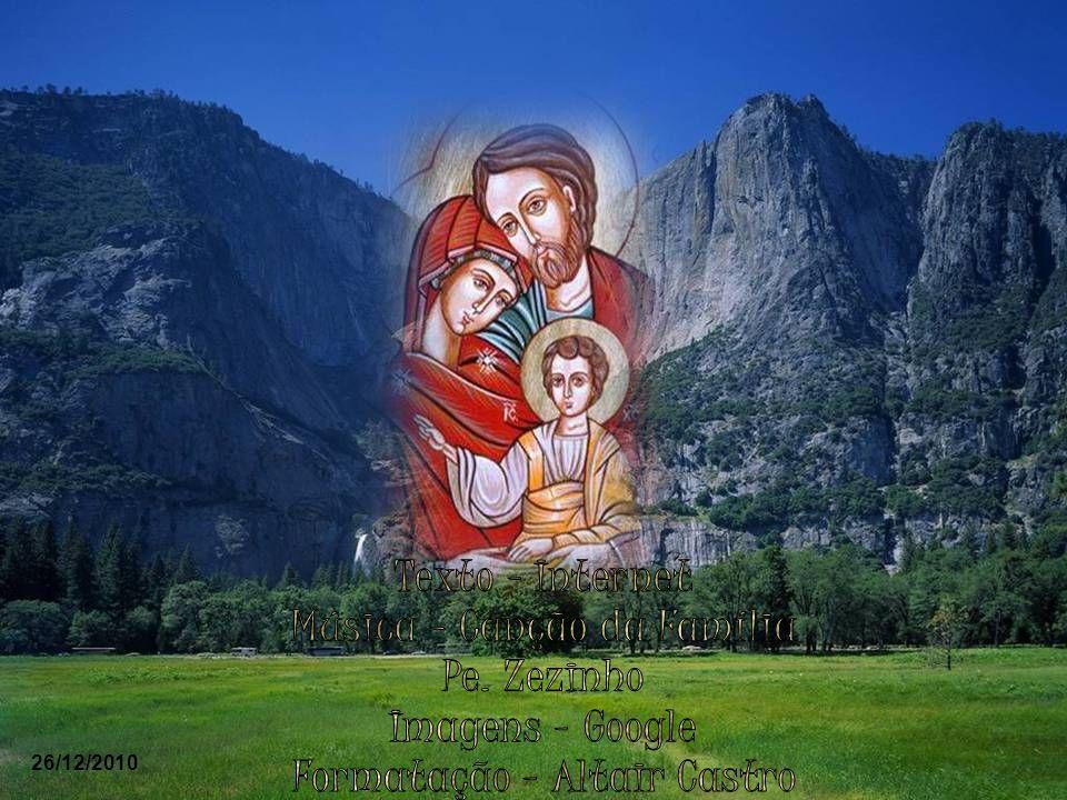 Que Nazaré nos ensine o que é a família, a sua comunhão de amor, a sua austera e simples beleza, o seu caráter sagrado e inviolável; aprendamos de Naz