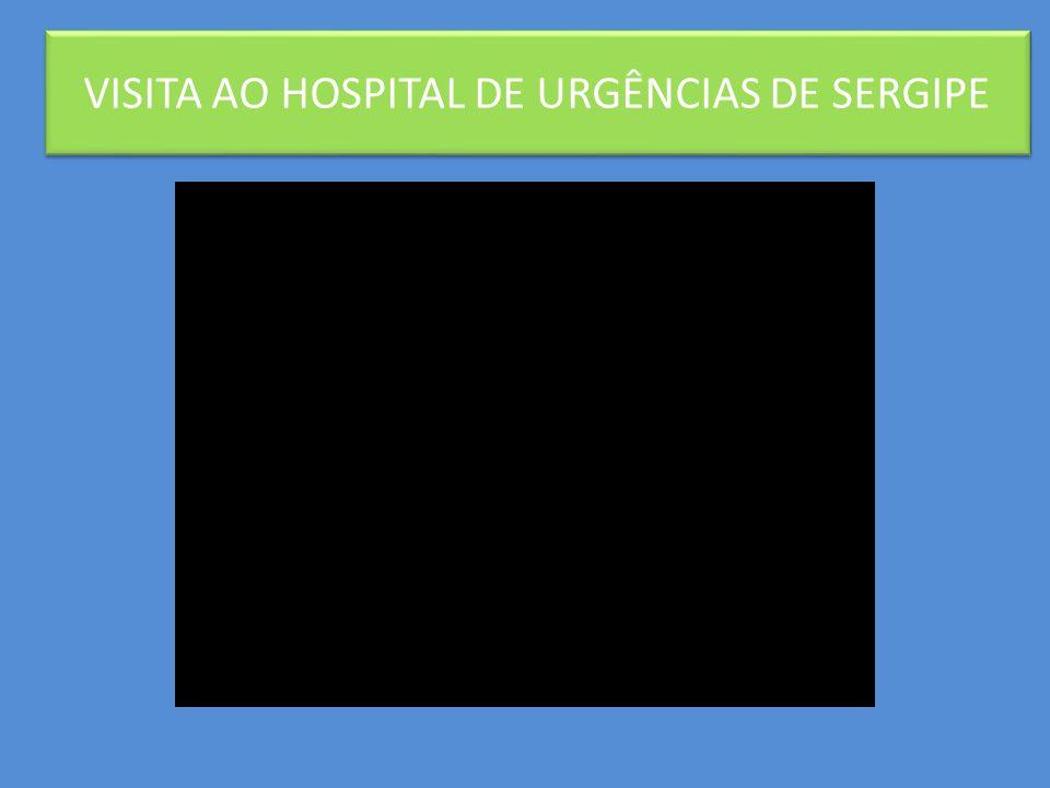 Biblioterapia: biblioteca volante VISITA AO HOSPITAL DE URGÊNCIAS DE SERGIPE