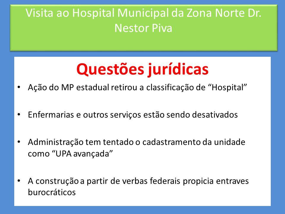 """Gestão e organização • Organização administrativa – Divisões por função • Médica • Enfermagem • Administrativa – """"Campos (1998) sugere […] a criação d"""