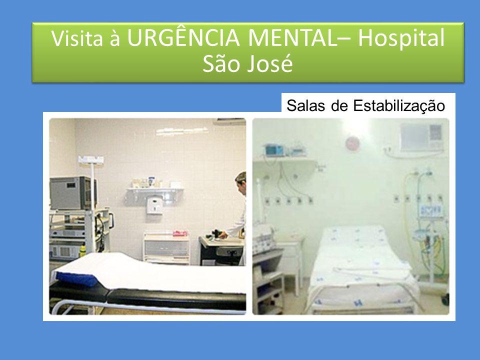 - Trazido pelo SAMU  estabilização psiquiátrica  estabilização clínica (ex: pressão alta) -Ficha de atendimento (RECEPÇÃO)  aguarda na área amarela