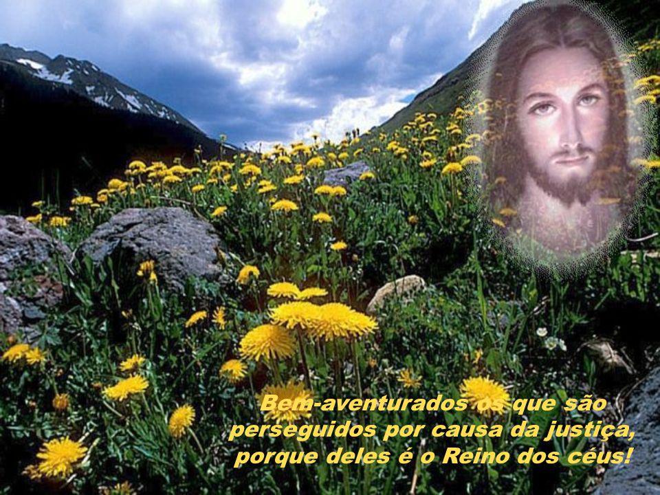 Bem-aventurados os pacíficos, porque serão chamados filhos de Deus!