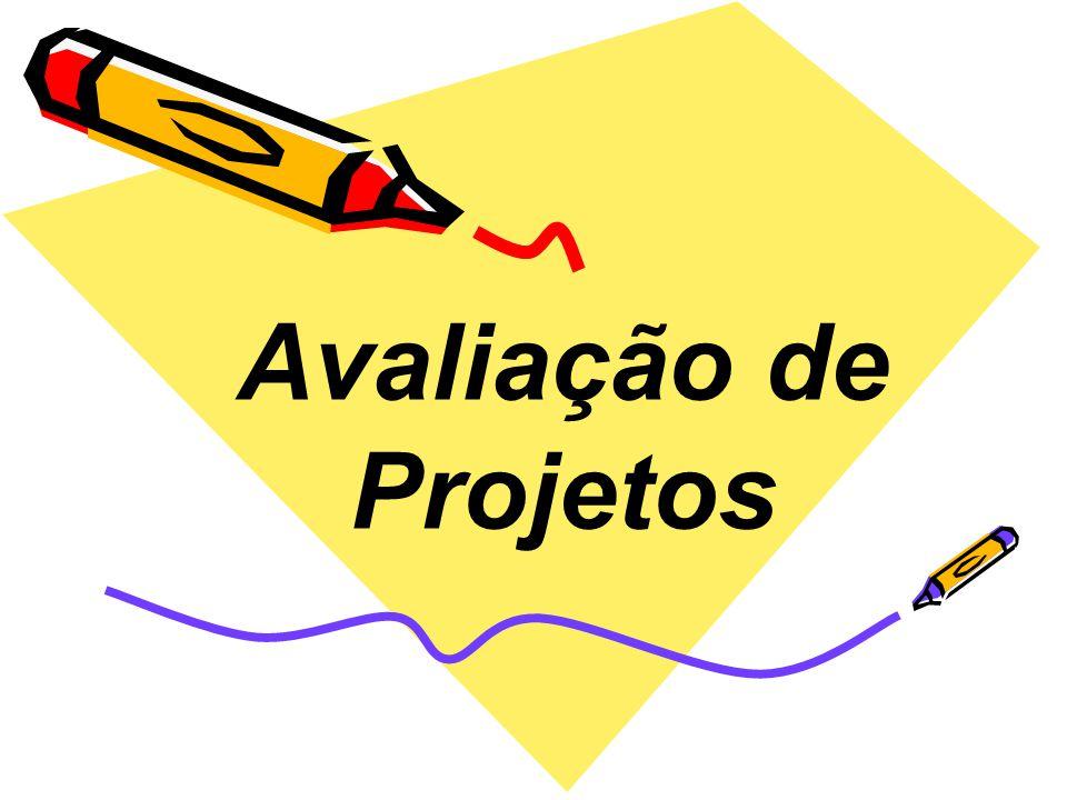 Avaliação de Projetos