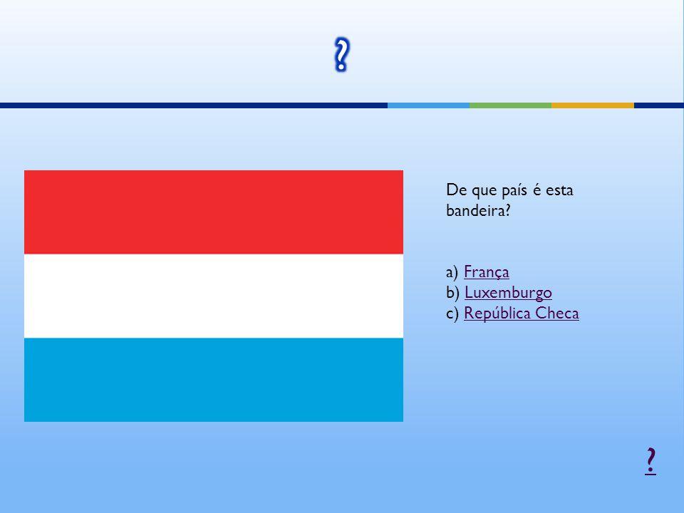 De que país é esta bandeira.