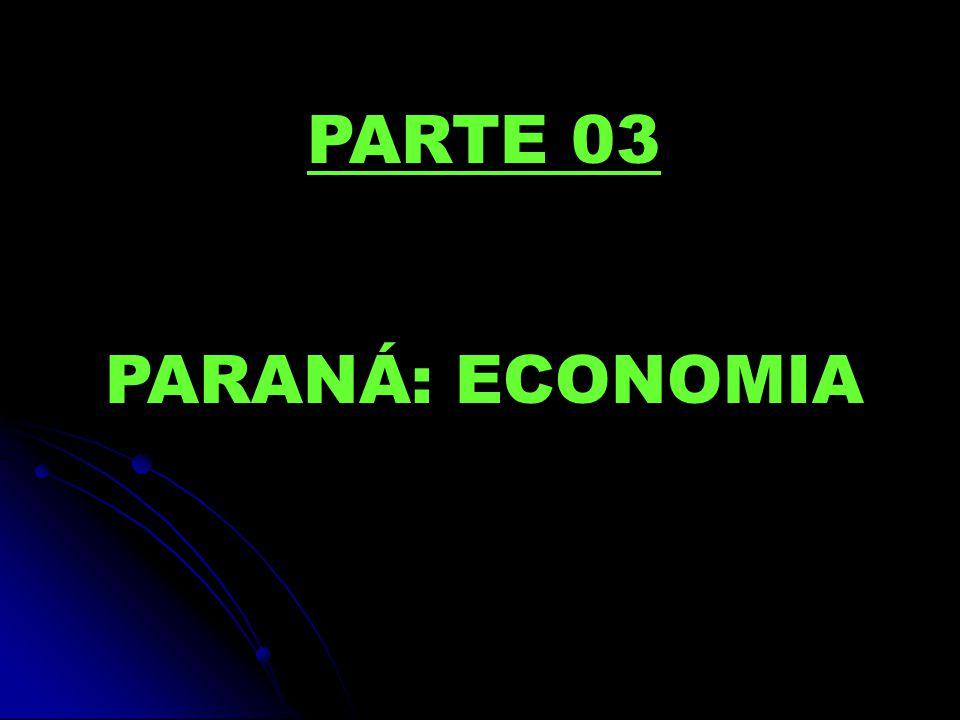 PARTE 03 PARANÁ: ECONOMIA
