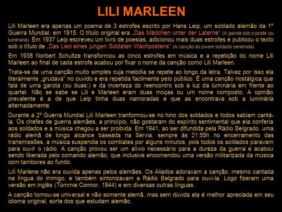 DEUTSCHKURS Para Brasileiros NÍVEL A1 Apresentação 011 LILI MARLEEN Marcelo Freitas