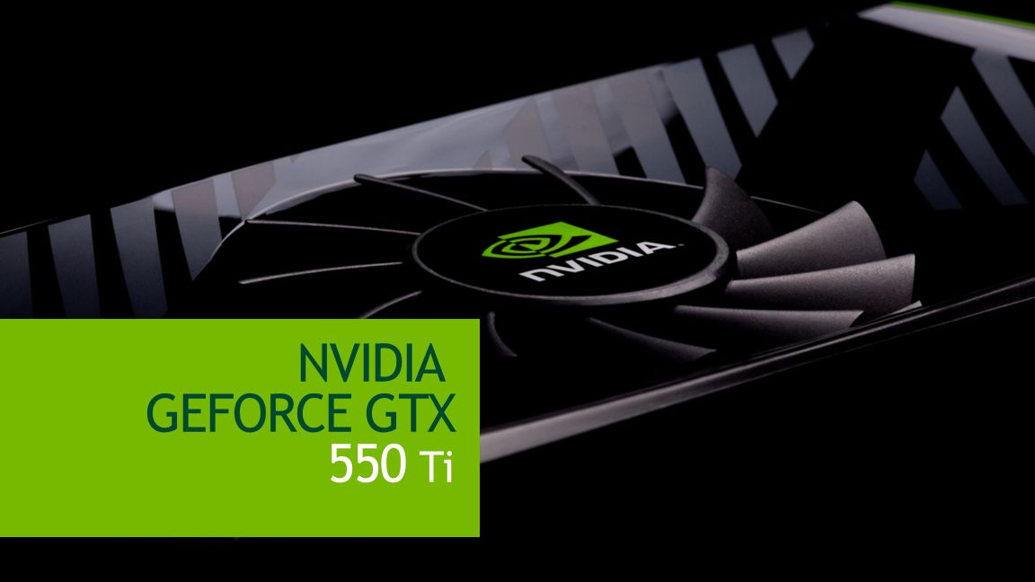 NVIDIA Confidential NVIDIA GEFORCE GTX 550 Ti