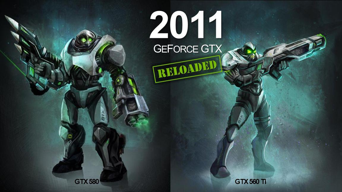 NVIDIA Confidential 2011 G E F ORCE GTX GTX 580GTX 560 Ti