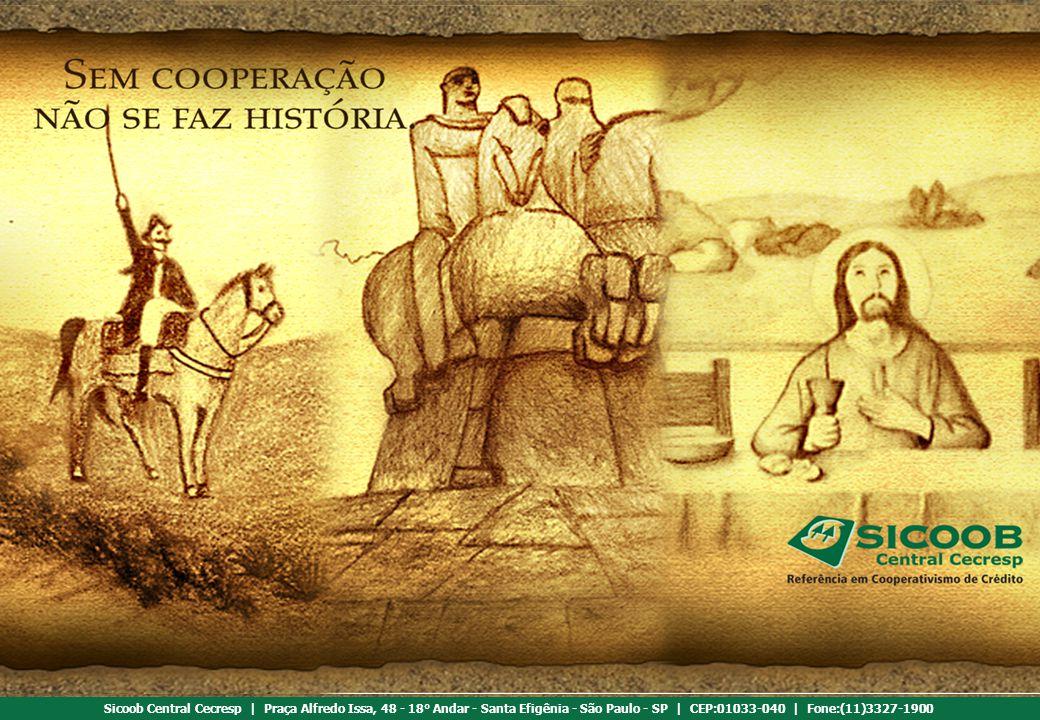 Referência em cooperativismo de crédito Sicoob Central Cecresp | Praça Alfredo Issa, 48 - 18° Andar - Santa Efigênia - São Paulo - SP | CEP:01033-040 | Fone:(11)3327-1900