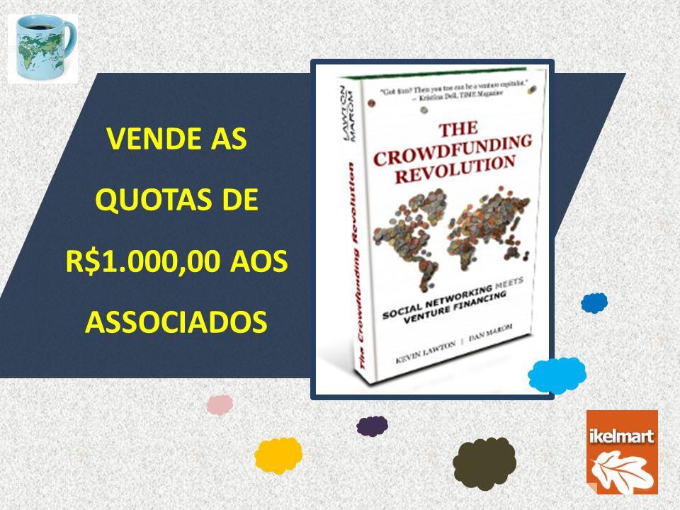 DIVIDE O NEGÓCIO EM QUOTAS DE R$1.000,00