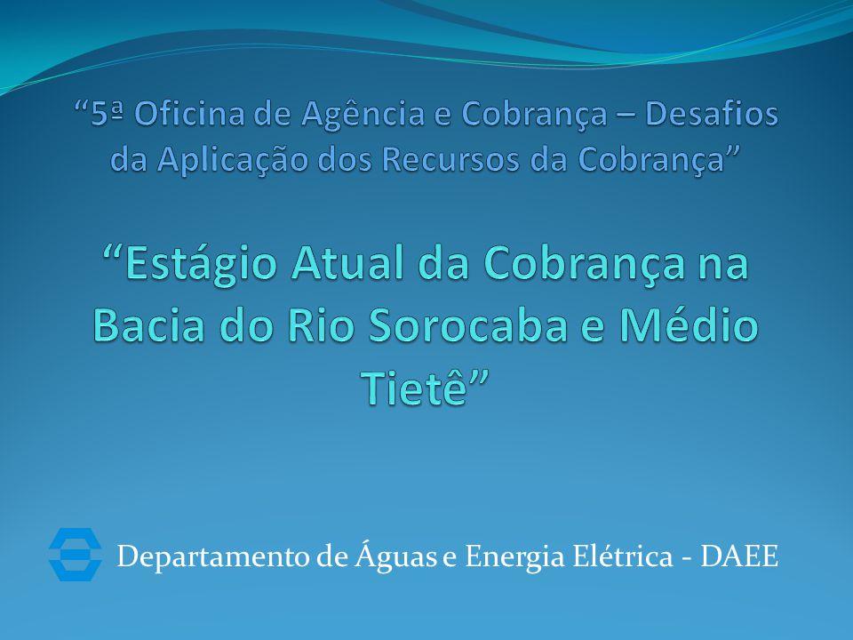 Departamento de Águas e Energia Elétrica - DAEE