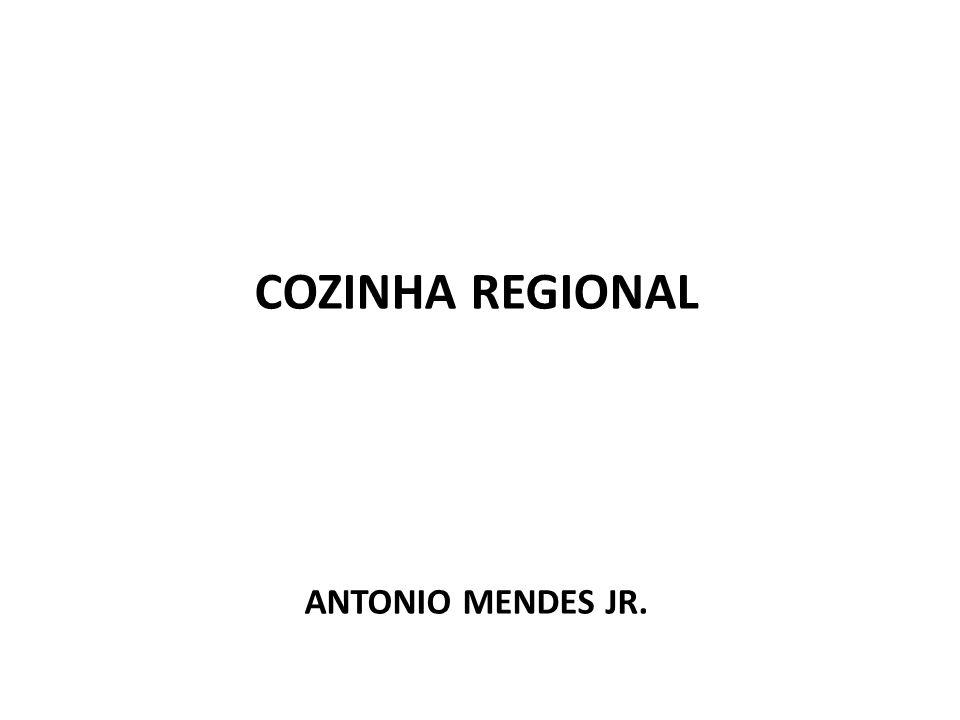 COZINHA REGIONAL ANTONIO MENDES JR.