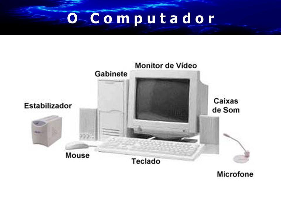 H a r d w a r e X S o f t w a r e Hardware Hardware: Parte material Componentes físicos •Sistema Central •Periféricos Software Parte lógica Programas que utilizamos •Básico •Linguagens •Aplicativos •Utilitários