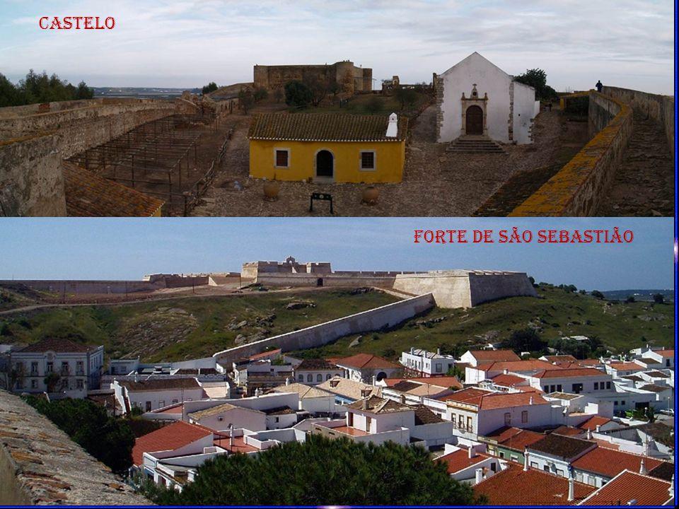 O forte de São Sebastião foi construído durante o reinado de D.