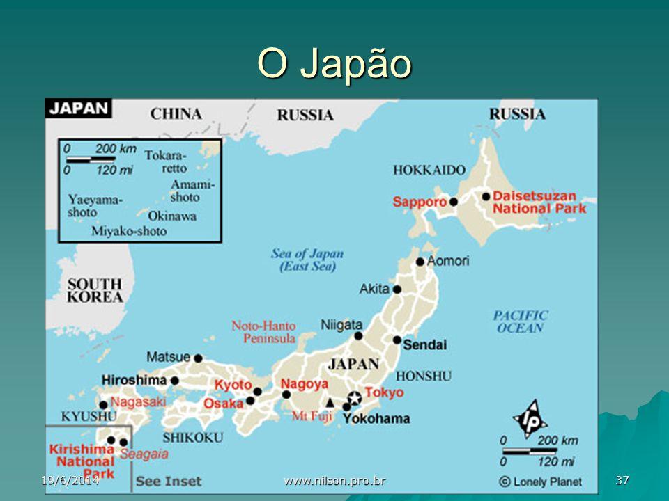 O Japão 19/6/201437 www.nilson.pro.br