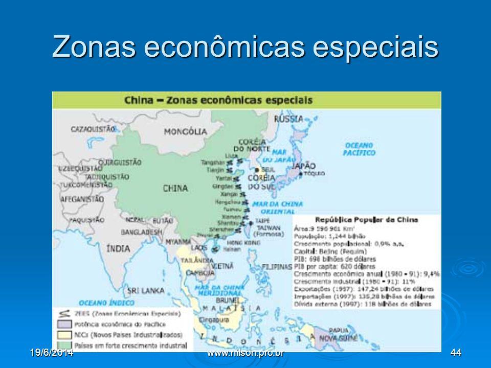 Zonas econômicas especiais 19/6/201444www.nilson.pro.br