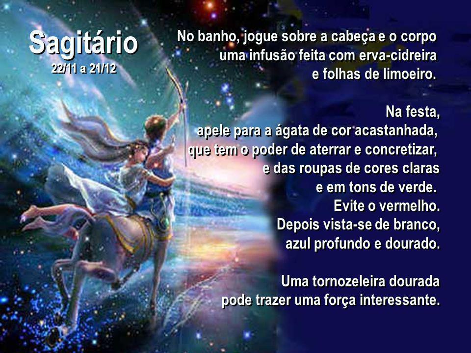 Sagitário 22/11 a 21/12 Sagitário 22/11 a 21/12 Quem é deste signo conta com um tremendo poder de transformação e transmutação de mágoas e de passado.