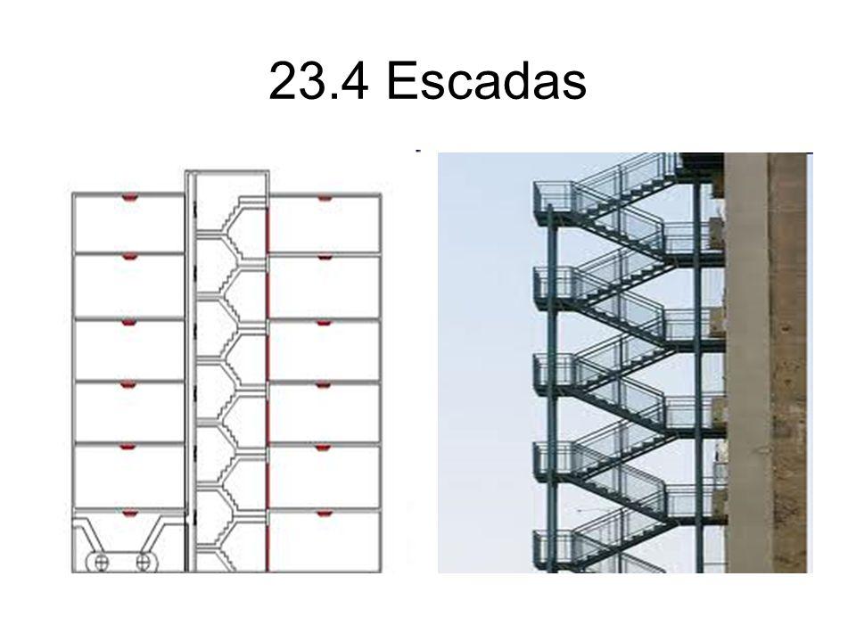 23.4 Escadas