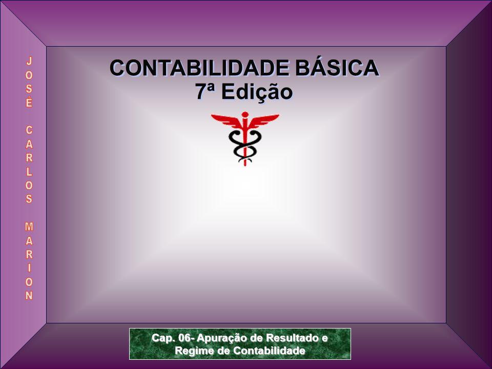 Prof.Dr. José Carlos Marion 2 Contabilidade Básica – 7ª Edição 6.