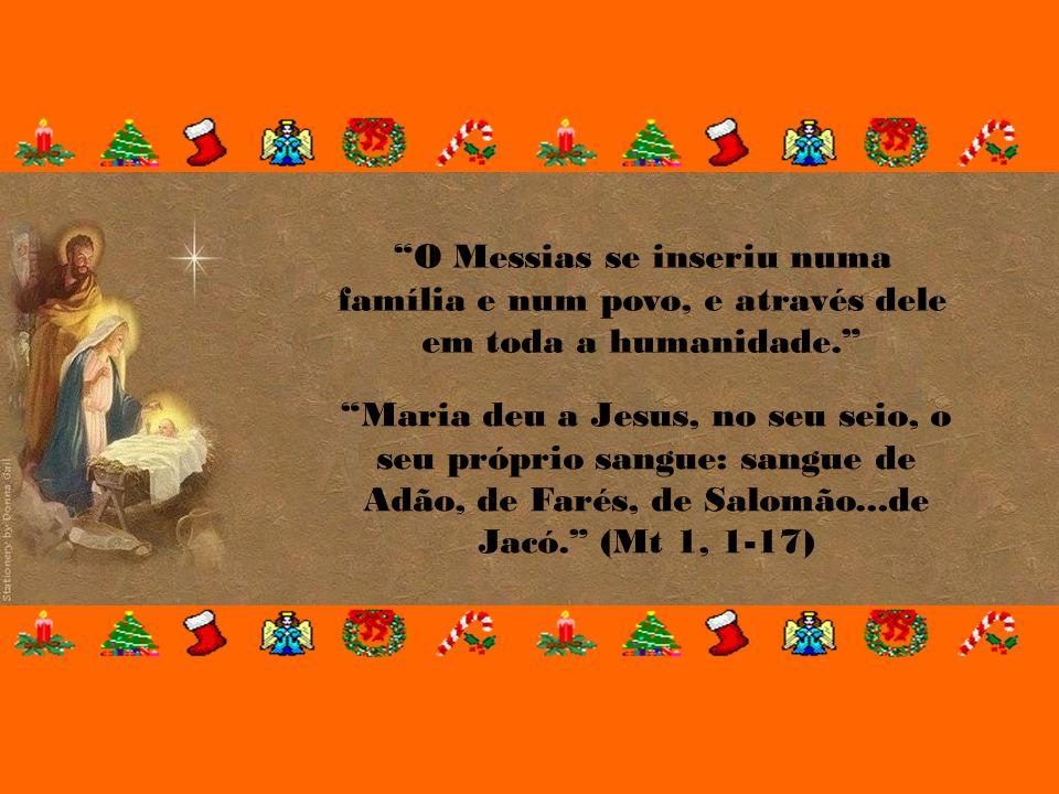 """Ele está no meio de nós, agindo e realizando maravilhas e prodígios. """"Quando veio a plenitude dos tempos, Deus enviou seu Filho, que nasceu de uma mul"""