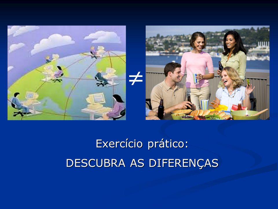  Exercício prático: DESCUBRA AS DIFERENÇAS