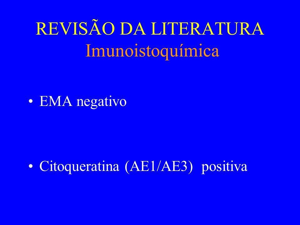 REVISÃO DA LITERATURA Evolução •Sem recidivas ou metástases •Policitemia desaparece com a retirada do tumor