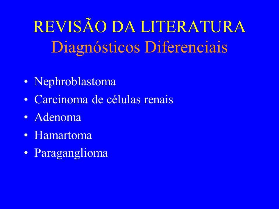 REVISÃO DA LITERATURA Referências Bibliográficas •Martin L, Justrabo E, Michel F, Billerey C, Yaziji N.
