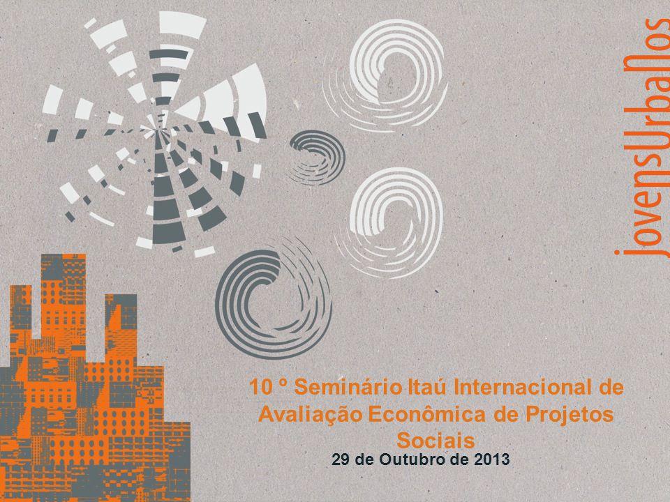 10 º Seminário Itaú Internacional de Avaliação Econômica de Projetos Sociais 29 de Outubro de 2013