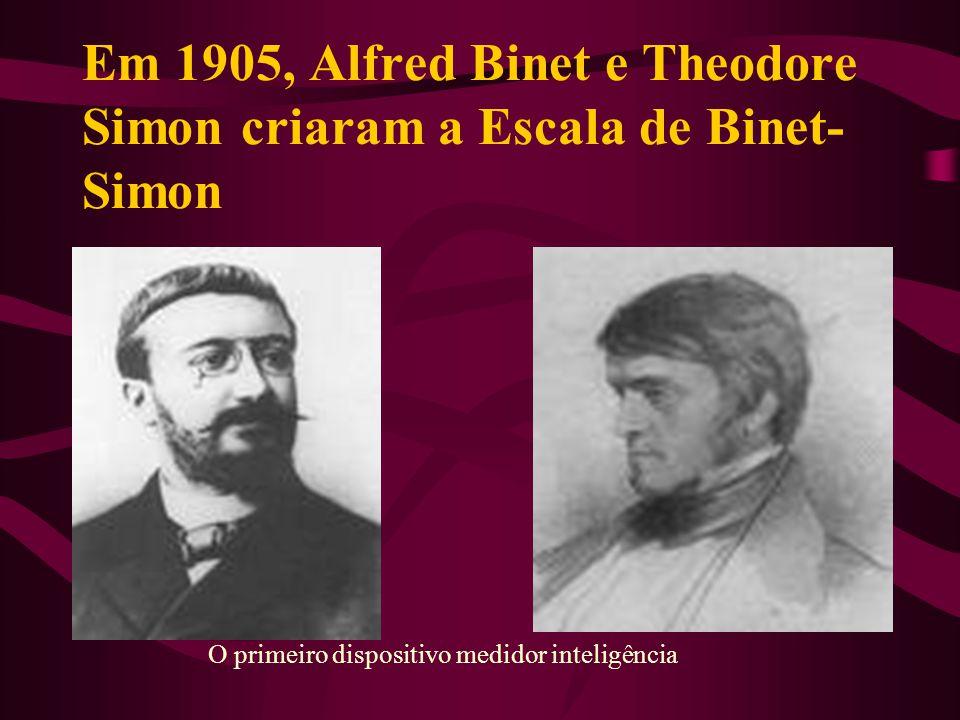 Alfred Binet Nasceu em 8 de julho de 1857 em Nice, faleceu em 28 de outubro de 1911, Paris, foi um pedagogo e psicólogo francês.