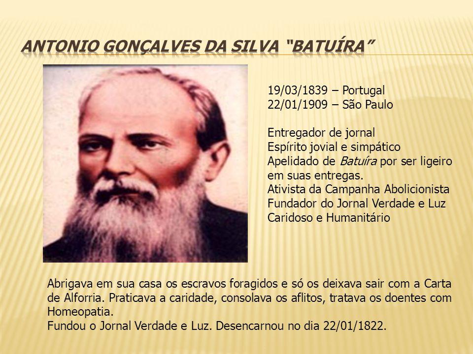 29/08/1831 – Ceará 11/04/1900 – Rio de Janeiro Médico Vereador Câmara Munic.