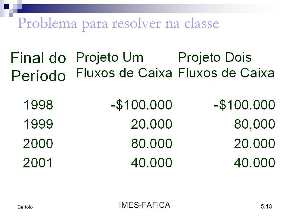5.13 IMES-FAFICA Bertolo Problema para resolver na classe