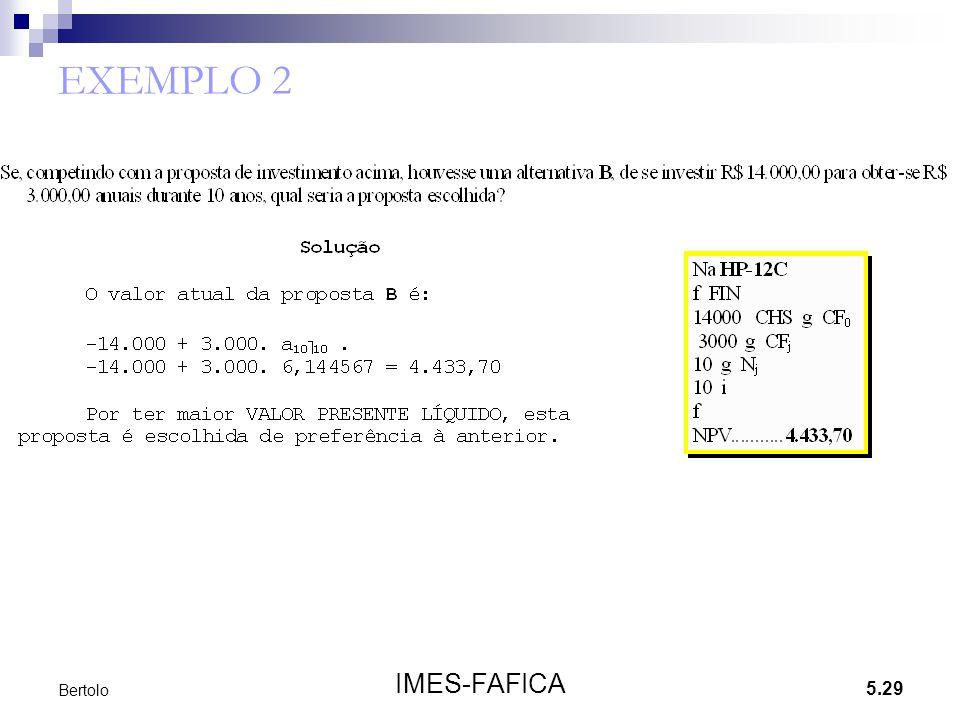 5.29 IMES-FAFICA Bertolo EXEMPLO 2