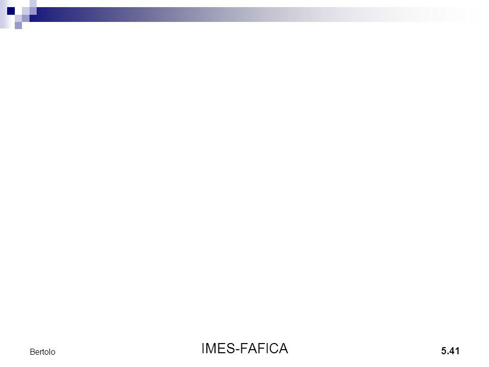 5.41 IMES-FAFICA Bertolo