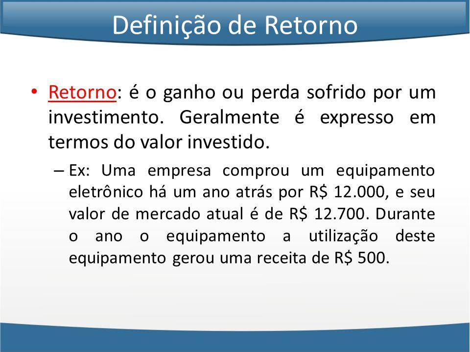 • Pode-se perceber através do exemplo apresentado que a correlação é o ponto central na formação de uma carteira e na definição do seu risco.