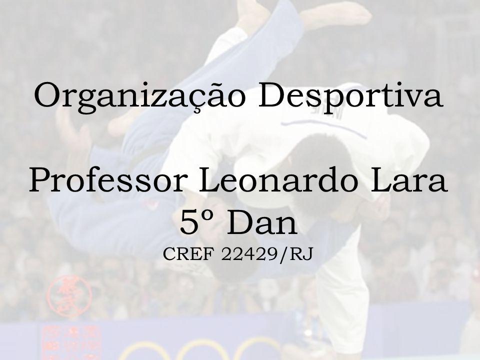 Organização Desportiva e Esquemas de Competição Sumário: 1- Introdução 2- Confecção do Projeto 3- Organização e chaves de Competição