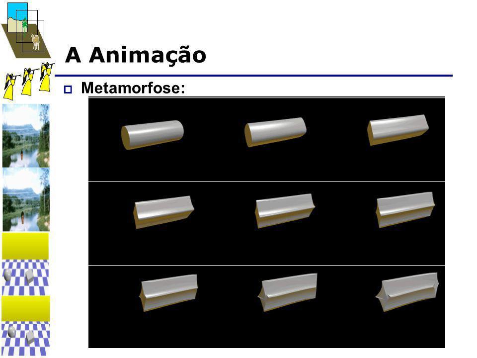A Animação  Metamorfose: