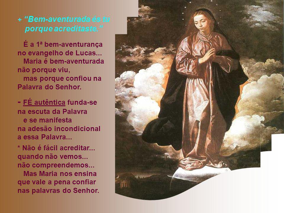 """* A presença da """"Arca da aliança"""": é motivo de ALEGRIA. Maria onde chega, provoca uma explosão de alegria... - A nossa presença provoca alegria ou às"""