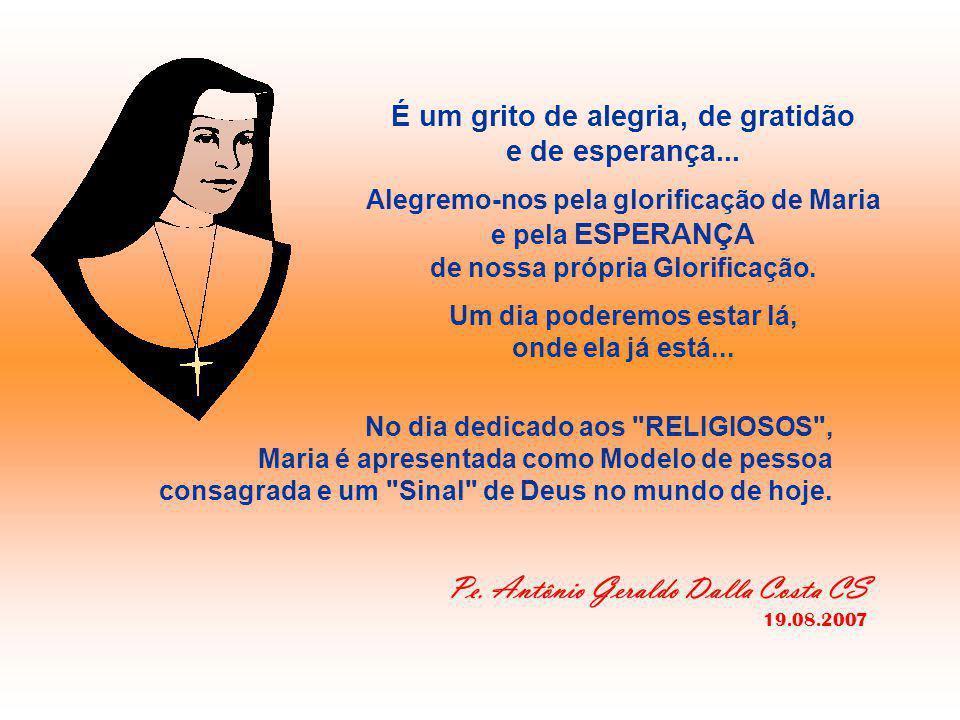 """+ """"Minha alma glorifica o Senhor..."""" - O CÂNTICO DE MARIA descreve o programa de Deus, que ele começou a realizar desde o início, que prosseguiu em Ma"""
