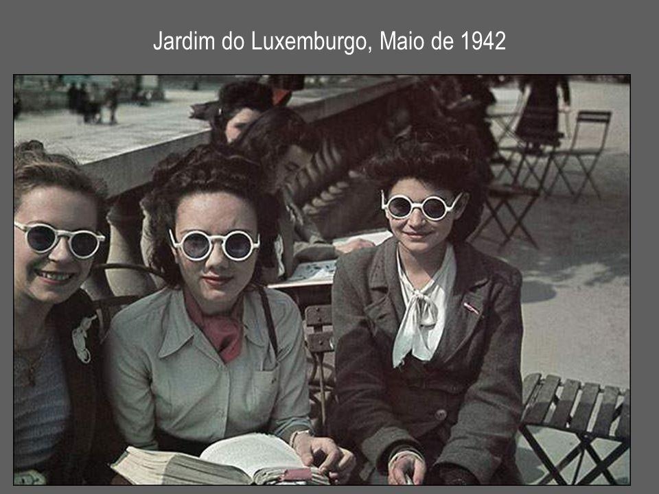 Jardim do Luxemburgo, Maio de 1942