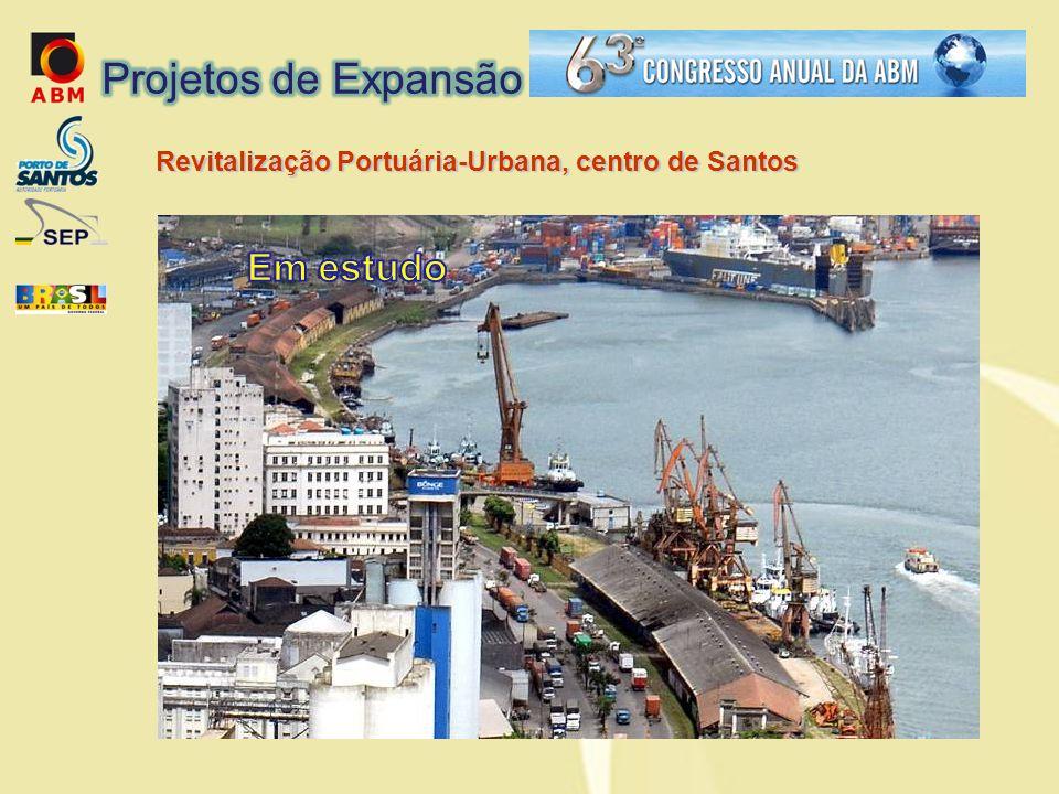 Revitalização Portuária-Urbana, centro de Santos