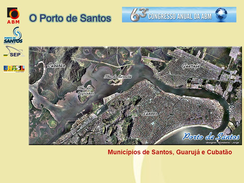 Municípios de Santos, Guarujá e Cubatão