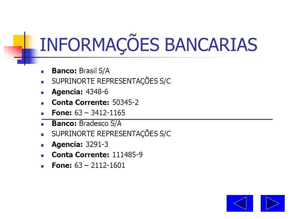REFERENCIAS COMERCIAS  Nome: Papelaria Central  End: Rua Ademar Vicente Ferreira, 1460  Cidade: Araguaina - TO  Fone: 63 – 3414 – 3934  Nome: Far