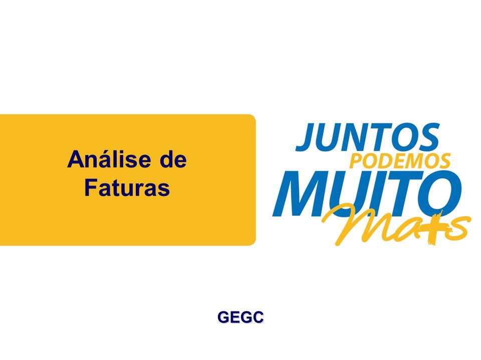 Praça João Lisboa Análise de Faturas GEGC